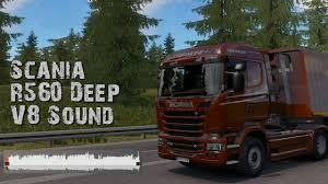 100 V10 Truck Scania R560 Deep V8 Sound V100 136x ETS2 Mods Euro