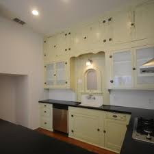 Alluring Design Ideas Of Antique Kitchen Cabinets Captivating Cream Wooden Color