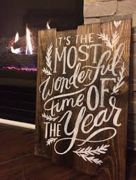 Its The Most Wonderful Time Of Year Christmas Holiday Pallet Sign