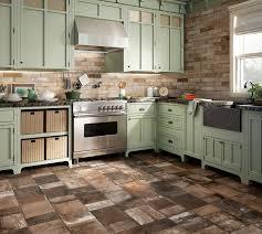 terracotta floor tiles for kitchen light blue kitchen cabinet