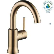Unlacquered Brass Bathroom Faucet by Brass Bathroom Faucets Bath The Home Depot