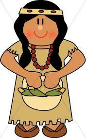 Cute Native American Woman