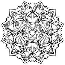 Coloriage Mandala Hibou
