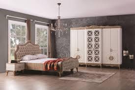 schlafzimmer balat mit stauraumbett 5 teilig creme moebel