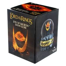 amazon com lord of the rings eye of sauron snow globe toys games