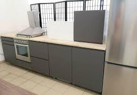 idea ikea küche metod voxtorp grau neu 12 monate garantie