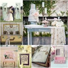 Shabby Chic Inspired Wedding Event Decor 1