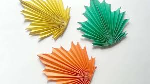 How To Create Paper Maple Leaves