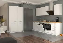 küche eko white 240 100cm weiß küchenzeile küchenblock einbauküche singleküche