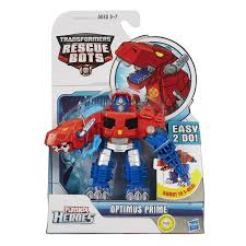 Playskool Heroes: Transformers Rescue Bots - Optimus Prime Dino ...