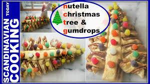 Gumdrop Christmas Tree by How To Make Homemade Nutella Christmas Tree Bread Juletræs Brød