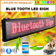 Bluetooth Programmable Scroll News Led Advertising Display Board Increase Your Business Broadcast 24 Hours