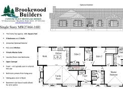 Spectacular Bedroom House Plans by 3 Bedroom Ranch Floor Plans House Living Room Design
