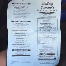 Tommys Patio Cafe Menu by Hotdog Tommy U0027s 92 Photos U0026 134 Reviews Dogs 319 Beach