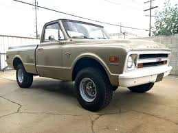 Find Of The Week: Nearly Original 1968 Chevrolet K-10 Short Bed 4x4 ...