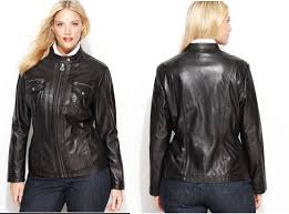 plus size leather jackets to ready your wardrobe for fall