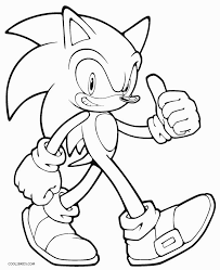 Full Size Of Coloring Pagecoloring Page Sonic Large Thumbnail