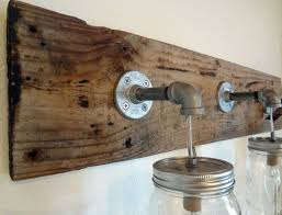Rustic Style Bathroom Vanity Lights