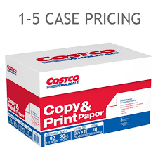 Costco Copy Paper Letter 20lb 92Bright 5000ct 15 Case Pricing