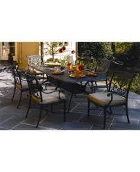 Hanamint Grand Tuscany Patio Furniture by Hanamint Cast Aluminum Dining Sets Patiosusa Patiosusa Com