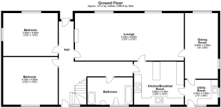 Tuff Shed Cabin Floor Plans by 4 Bedroom Detached House For Sale In Allscott Telford Tf6