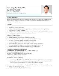 Sample Resume For Accountants Best Of Accountant