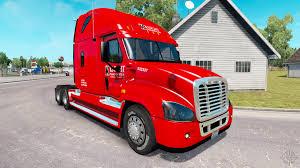 100 Knight Truck Skin On Truck Freightliner Cascadia For American Simulator