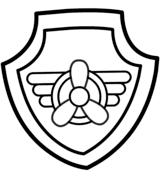 Paw Patrol Skyes Badge