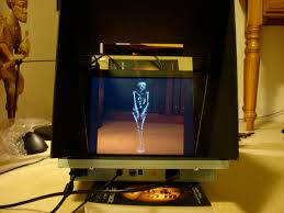 Halloween Ghost Hologram Projector by Peppers Ghost
