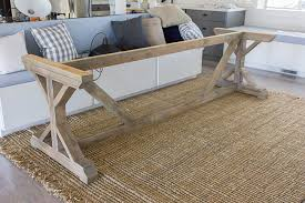 Awesome Farm House Table Regarding Kitchen Chronicles Building A Fancy X Farmhouse Jenna Sue Design 19