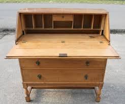 oak writing bureau furniture light oak writing bureau 215616 sellingantiques co uk