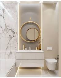 gold marble taupe modern bathroom bathroomfixtures modern