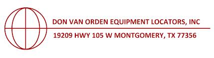 Home | Don Van Orden Equipment Locators, Inc. » Don Van Orden ...