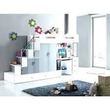 lit mezzanine bureau blanc lit a actage avec bureau lit mezzanine avec bureau lit