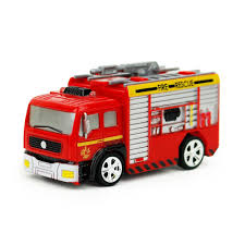 Mini Model Truck Diecast Fire Trucks Toy 1:58 Remote Control RC ...