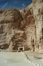 100 In The Valley Of The Kings A Tomb Entrance Luxor Upper Egypt Stock
