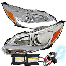 hid xenon 2012 2014 ford focus led light drl projector