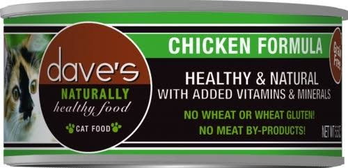 Dave's Naturally Healthy Chicken Formula for Cats - 12.5oz