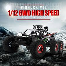 Virhuck 1:12 2.4G 6WD Off-road RC Desert Truck Crawler Car Brushless ... Hsp 18 24g 80kmh Rc Monster Truck Brushless Car 4wd Offroad Rage R10st Hobby Pro Buy Now Pay Later Shredder Large 116 Scale Rc Electric Arrma 110 Granite 3s Blx Rtr Zd Racing 9116 Hpi Model Car Truck Rtr 24 Losi Lst Xxl2e 6s Lipo Buggy In 360764 Traxxas Stampede Vxl No Lipo 88041 370763 Rustler 2wd Stadium