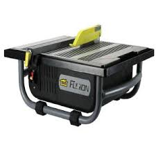 ryobi 7 in 4 8 amp tabletop tile saw ws722 the home depot