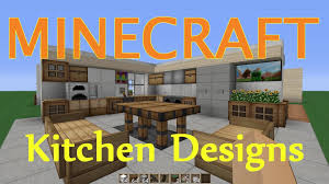 Minecraft Kitchen Dining Room Design Ideas Youtube Designs And Mexican Your