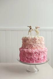 Rabbits In Love Wedding Cake Topper With Pink Accents For Your Rustic Made To Order