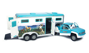 Amazon.com: Breyer Stablemates Truck & Gooseneck Trailer: Toys & Games Bruder 02749 Man Tga Cattle Transportation Truck With 1 Cow New Breyer Horse And Trailer Breyer 5356 Stablemates Gooseneck In Box Traditional Two Millbry Hill Amazoncom Animal Rescue And The Best Of 2018 Pickup Fort Brands 5352 Wyldewood Tack Shop Used Red Dually Truck Trailer Sn14 North Wraxall For 19 Scale Twohorse Horze Series Dually
