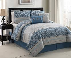 Blue Classic forter Bedding Set Queen
