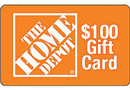 Customer Survey for $100 Home Depot Gift Card Draw 2016
