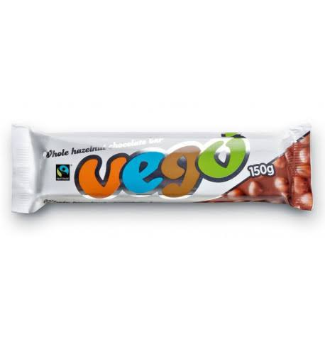Vego - Whole Hazelnut Chocolate Bar 150 G