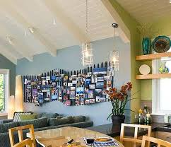 Dining Room Frames Wall Photo Collage Ideas Without In The Wooden