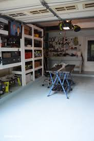 Behr Garage Floor Coating by How To Paint Garage Floors With 1 Part Epoxy Paint