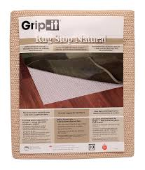 Best Felt Rug Pads For Hardwood Floors by Amazon Com Rug Stop Natural Rubber Non Slip Indoor Rug Pad Size