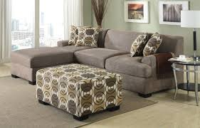 Poundex Bobkona Sectional Sofaottoman by Smaller Sectional Type Sofa For Small Spaces Instead Of Those Huge